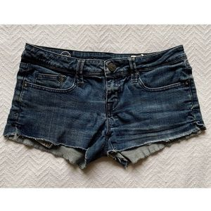 Fox Distressed Blue Jean Shorts